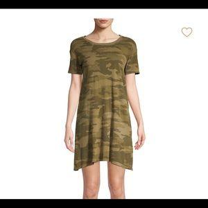 Current/Elliott Camo T-Shirt Dress